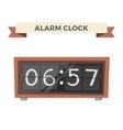 Clock watch alarm icon vector image vector image