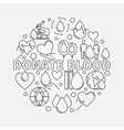Donate blood round