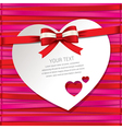 gift cardbeautiful card vector image vector image