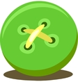 Green Button vector image vector image