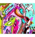 original unique abstract digital contemporary vector image vector image