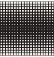 Seamless Black And White Square Halftone vector image vector image
