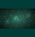 seamless islamic pattern gold persian motifspp vector image