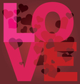 Valentine day love message print
