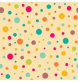 Bright seamless pattern with polka dots vector image vector image
