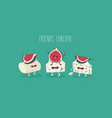 cheese and figs friends vector image vector image