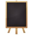 empty blackboard for advertisement vector image