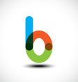 Letter B logo icon design template element vector image vector image