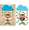 Money Rain vector image