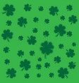 saint patricks day shamrock background texture vector image vector image