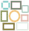 set of frames vector image vector image