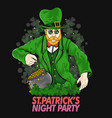 st patricks day green day vector image