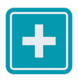 first aid medical sign vector image