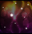 abstract background bright shiny mosaic vector image vector image