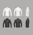 base layer shirts for men vector image vector image