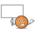 bring board cookies character cartoon style vector image