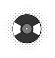 Gramophone vinyl LP record icon vector image vector image