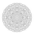 Mandala Vintage hand drawn decorative vector image vector image