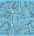 motherboard board seamless pattern background vector image vector image