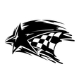 Racing and motorsport icon vector image