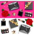 female accessories double set 2 vector image