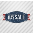 Independence Day Sale greeting Tag vector image vector image
