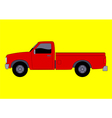 Pick Up Truck vector image