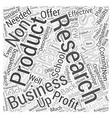 business plan for non profit school Word Cloud vector image vector image
