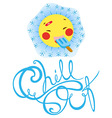 chill out vector image vector image