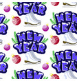 new year seamless pattern cute colorful vector image vector image