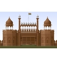 Red Fort vector image