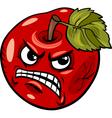 bad apple saying cartoon vector image vector image