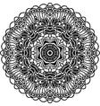 Boho decorative element for design Monochrome vector image vector image