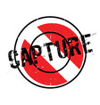 capture rubber stamp vector image