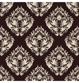 damask wallpaper vector image