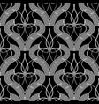 elegant black and white greek seamless pattern vector image