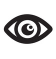 eye icon sign design style vector image vector image