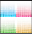 gradient white stripe grid pattern vector image vector image