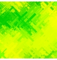 Green and Yellow Glitch Background vector image vector image
