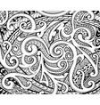 maori ethnic style ornament vector image vector image