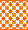 seamless pattern with star anise vector image