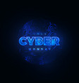 Cyber monday promotional online sale event