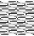 Geometric monochrome seamless pattern of triangles vector image vector image