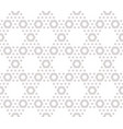 hexagons texture subtle seamless beige pattern vector image