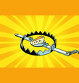 iron trap with cheese mousetrap vector image vector image