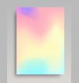 liquid colored gradient backdrop vector image