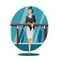 professional slim ballerina choreographer dancer