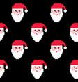 santa seamless pattern christmas wallpaper xmas vector image vector image