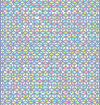 seamless colorful cube pattern vector image vector image