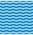 Seamless simple blue wave pattern vector image vector image